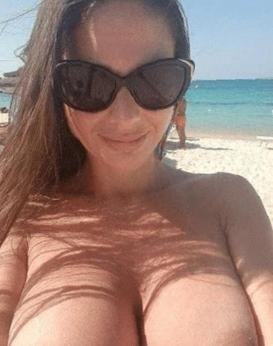 Für einen Tag deine Freundin mit dicken Titten